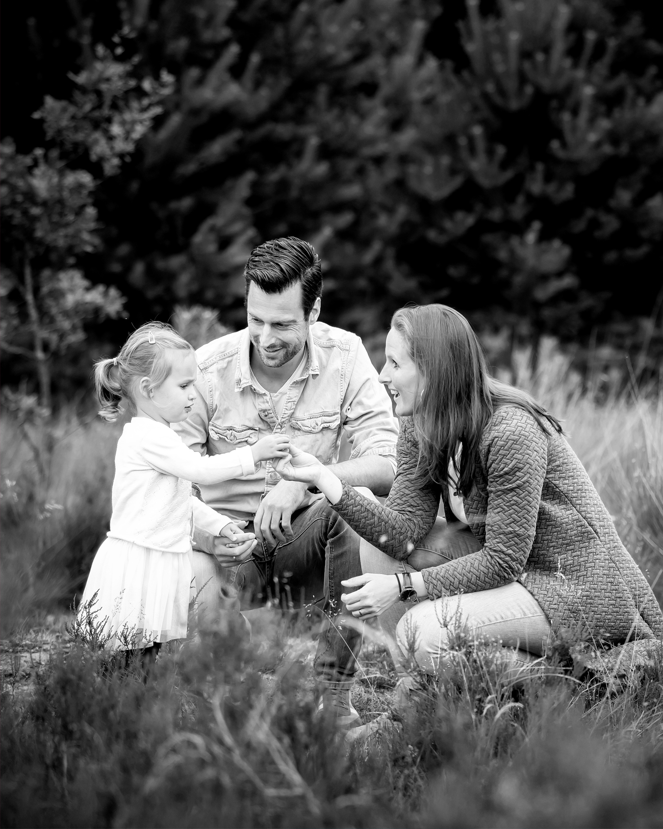 Familiefotoshoot sonse heide kim vos fotograaf
